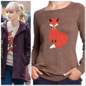 Knit Fox Sweater - Rare Blogger fave! 🦊